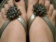 A pic request for my little toesies after my fresh pedicure.
