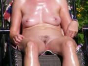 nude women sunbathing