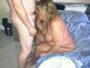 Mrs Daytonohfun sucking another lover's cock while I reload for round 2.  I had just fucked and creampied her before she sucked this guy.  Her hubby was out of town, but knew all about her fucking us.