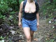 hiking and thinking of my lovers cock