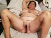 It's so exciting looking at hubby laying here spread wide his friend says to my hubby I'm really going to enjoy fucking your wife.