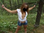 These are dedicated to one of my newest fans, tilmk. I little strole in the woods, turned into a fun little photo shoot.