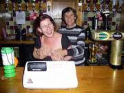 Helping behind the bar when on holiday ..lol. The bartender started getting a little frisky and grabbing my tits .. would you have done the same??