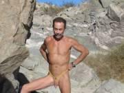 Nudist hiking in Arizona