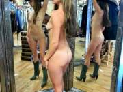 "A different kind of ""3 way"" LOL! My hubby dared my to try these boots and hat on in a store...without the clothes....good times!"