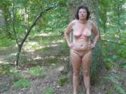 i love to walk nude in the wood