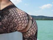 sexy days on the boat...so hot the sun