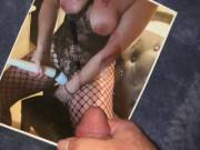 Cumming for Spankyu23 after watching her on cam