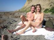We went to Blacks Beach. I was a bit cold but we had fun!!!