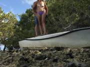 Shipwrecked and topless again!