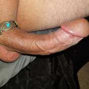 Showing off my dick jewelry