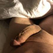 My dick was ready to burst last nite. Wife let me lick her sweet pussy and that gets me so hard and horny!!