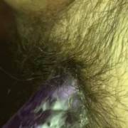 Wife trying to cum again by using my nut as extra lube