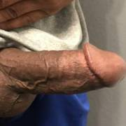 Dick out at the gym