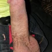 My hard dick.