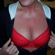 My wife's big tits for you to enjoy.