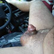 Masturbating my tiny penis in my car using an anal toy for extra pleasure hoping you will watch and get turned on I would love to share my tiny penis with you, would you like to help me come while I eat your p**** or your tiny dick