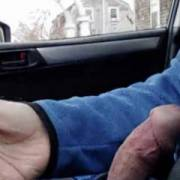 Driving around down to show  off My dick.