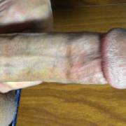A little dick play at the girlfriend's apartment, before she comes home. Getting ready to pound her pussy. Hehehe