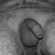 My small uncut dick