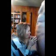 sucking a guys cock to get his cum, Mrs Gsplash swallows it all.  Does she suck it ok?