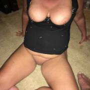 55yo wife big tits and nipples