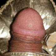 small dick on gold slipper