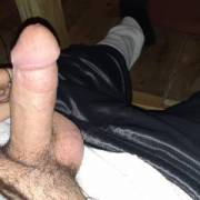 This is one where my dick is actually hard. As you can see its a decent size when its hard