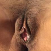 my cum inside my wife's pussy
