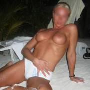 getting horny on vacation at the evening again... trying seduce and get hard cock  ;-)
