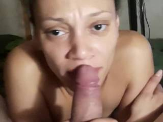 My chick giving a professional blowjob
