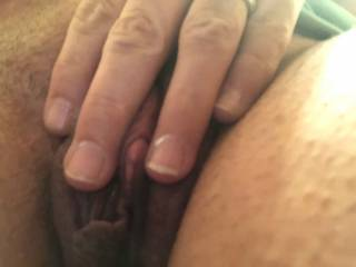 How much of your hot cum can you cover my pussy with?