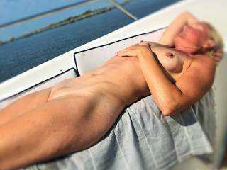 the Wife loves to lay naked in the sun. Do you enjoy seeing her naked?