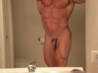 Mmmmmmmm  That is one Hot body!  Those ripped abs are so sexy!  Did it just get warmer in here?