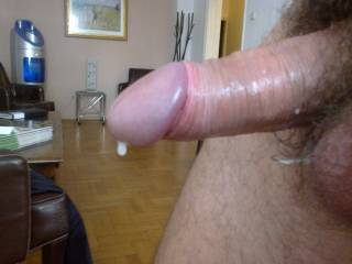 My cock right after I fucked my sweet wife\'s pussy... What do you think? are you jealous?
