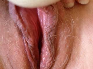 ready to be licked until she cums a couple times...then the real fun begins