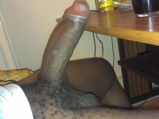 An uncircumsized black dick, I would sooo love to jack him off, never had one in my hands or mouth !!!