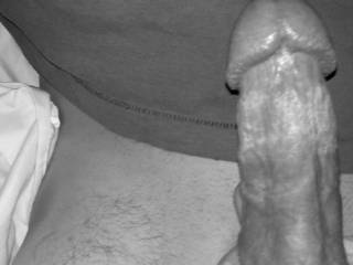 """Great looking cock.. I'd enjoy watching you giving it """"Hot n Hard"""" to my sexy cock hungry wife!"""