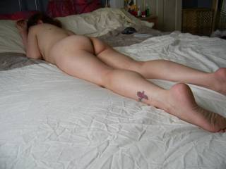 i'd start licking and kissing from the bottom of your feet, up your legs to that lovely ass and then fuck you till you screamed