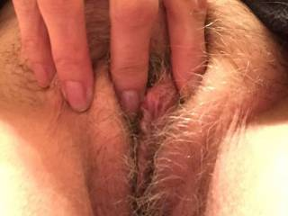 Oh yes, spread those lips an let me taste your pussy
