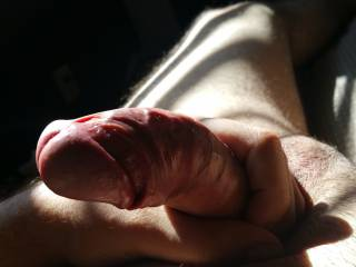 Dick in hand. Would you like to help?