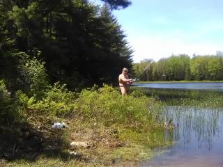 love to fish naked
