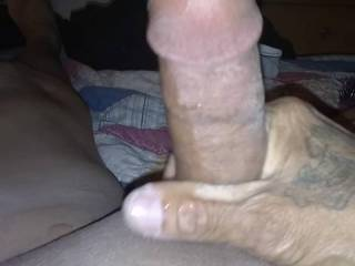 A lil blurry but real deep. Let\'s big dick all