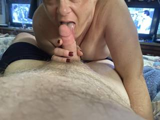 My friend Jill came over for a morning session 😈😈