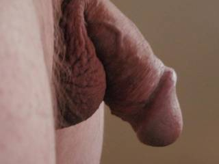 I really love the shape of your cock!!!