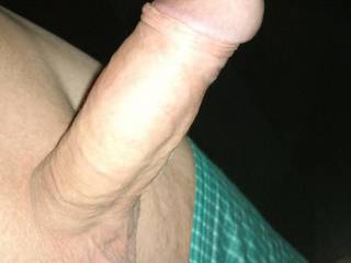 Nice clean shaved cock.. love it