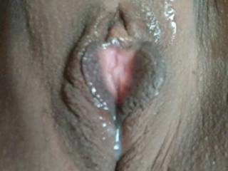 I was home alone feeling so horny after shaving my pussy....