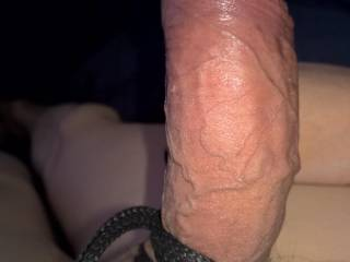 As you can see I like to play with rope when I beat my cock.