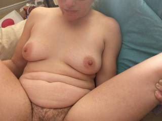 Getting filled. Like to have a few nice cocks take turns