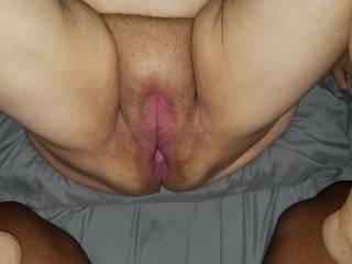 About to go so deep inside her!